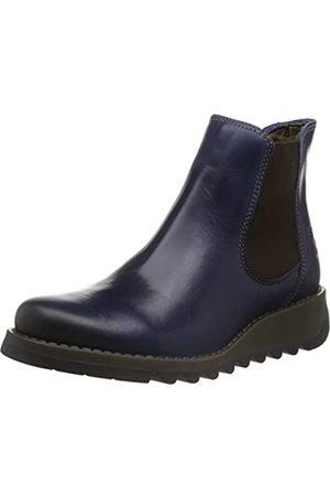 Fly London Damen Salv Chelsea Boots, (Blue 019)