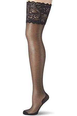Glamory Couture 20 halterlose Naht-Strümpfe- -48-50