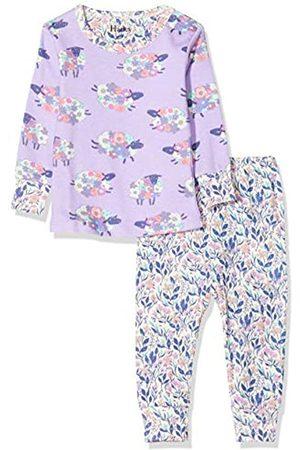 Hatley Baby-Mädchen Organic Cotton Long Sleeve Pyjama Sets Zweiteiliger Schlafanzug