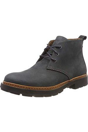 Clarks Herren Trace Flare Chelsea Boots, (Dark Grey Nubuck)