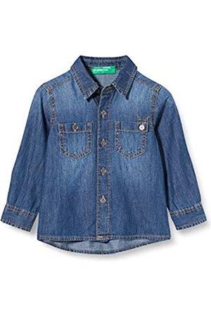 Benetton Baby-Jungen Camicia Freizeithemd