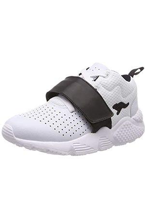 KangaROOS Unisex-Kinder Kangablaster Hi Sneaker, (White/Jet Black 0500)