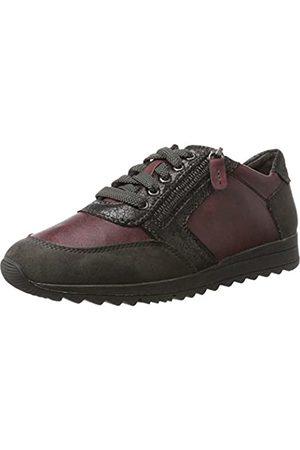 Soft Line Damen 23771 Sneaker, (Bordeaux)