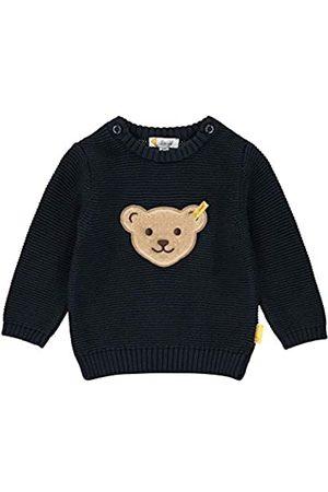 Steiff Baby-Jungen mit Teddybärmotiv Pullover