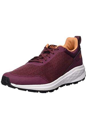 Jack Wolfskin Damen Coogee LITE Low W Sneaker, (Burgundy/Apricot 2824)