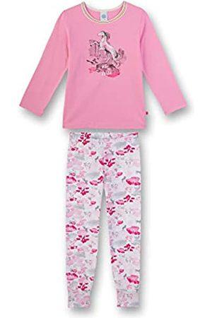 Sanetta Mädchen Pyjama lang Zweiteiliger Schlafanzug