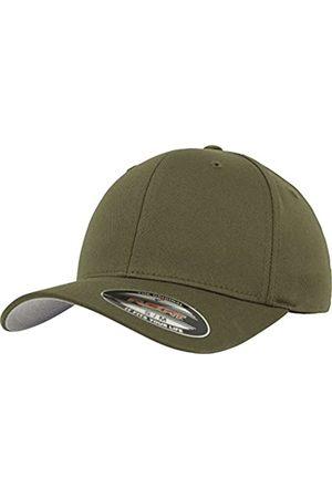 Flexfit Unisex Baseball Cap Wooly Combed, Kappe ohne Verschluss für Herren, Damen und Kinder, Farbe