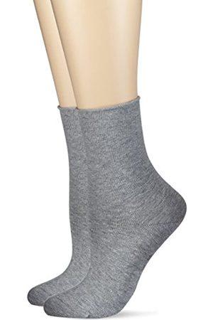 Hudson Damen Socken mit Rollrand, 025101 Only, 2er Pack