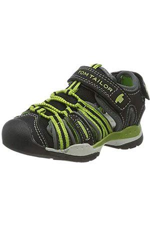 TOM TAILOR Unisex-Kinder 6970901 Sport Sandalen, (Black 00001)