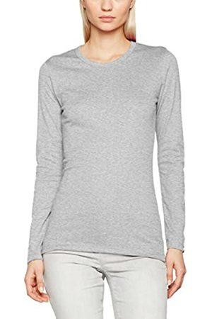 Trigema Damen Slim Fit Langarmshirt Langarm - Shirt 502501, Einfarbig