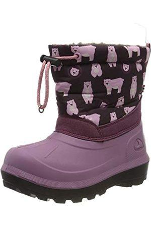 Viking Unisex-Kinder Snowfall Bear Schneestiefel, (Violet/Pink 2109)