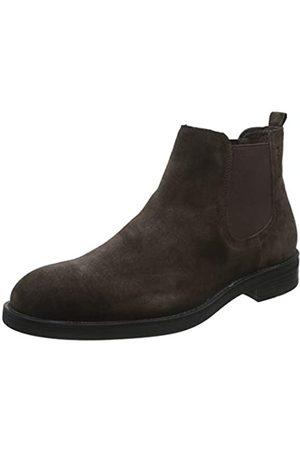 Stonefly Herren Carnaby Velour Chelsea Boots, (Fern Brown 410)
