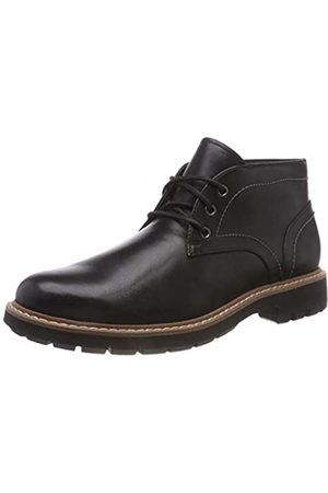 Clarks Herren Batcombe Lo Chelsea Boots, (Black Leather)