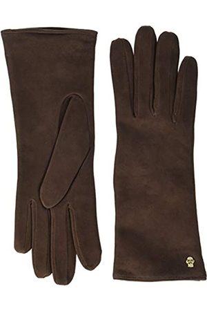 Roeckl Damen Edelklassiker Velours Handschuhe, 6.5 (Herstellergröße: 6
