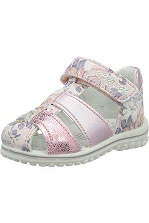 Geox Girls Junior Coralie Sandals 34 M EU// 3 M US Little Kid C1007 Silver Glitter