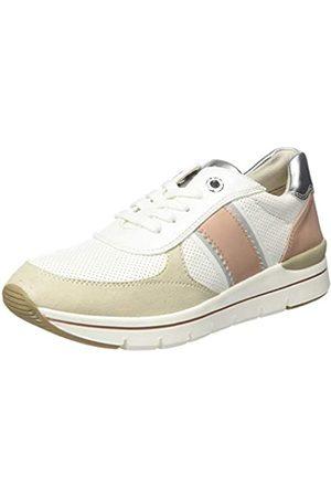 Marco Tozzi Damen 2-2-23710-24 Sneaker, (White/Dune 178)