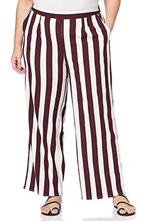 Simply Be Damen Ladies Stripe Wide Trousers Hose