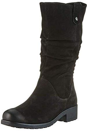 Caprice Damen HALINE Hohe Stiefel, (Black Nubuc 8)
