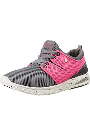 British Knights Damen Tempo Sneakers, (DK Grey-Peach 12)