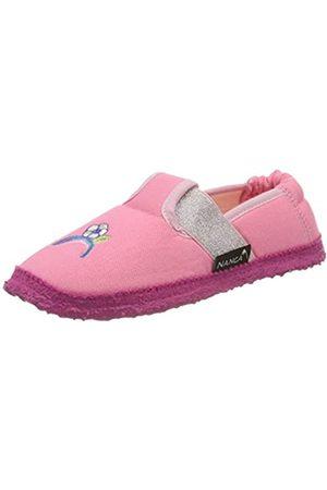 Nanga Mädchen Einhorn Niedrige Hausschuhe, Pink ( 25)
