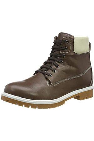 Andrea Conti Damen 0026809 Combat Boots, (Dunkelbraun 061)