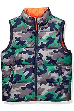 Spotted Zebra Reversible Puffer Vest infant-and-toddler-down-alternative-outerwear-coats