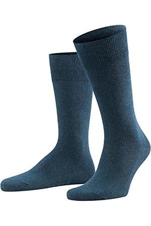 Falke Herren Socken Family - 94% Baumwolle, 1 Paar (Navy Blue Melange 6490)