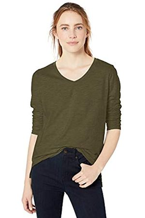 Goodthreads Vintage Cotton Long-Sleeve V-Neck fashion-t-shirts