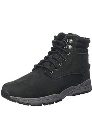 Regatta Herren Grafton Thermo' Leather Casual Combat Boots, (Black/Granite 9v8)