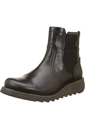 Fly London Damen Scon058fly Chelsea Boots, (Black)