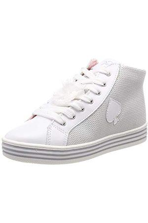 Primigi Mädchen PSA 34339 Hohe Sneaker, (Bianco/Bianco 3433911)