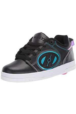 Heelys Mädchen Voyager (he100604) Sneaker, Black/Pink/Rainbow Foil