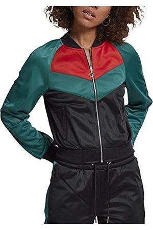 Urban classics Damen Ladies Short Raglan Track Jacket Sweatjacke