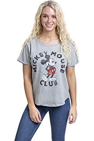 Disney Damen Mickey Mouse Club T-Shirt