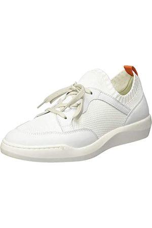 softinos Damen BEAE565SOF Slip On Sneaker, (White/White 005)