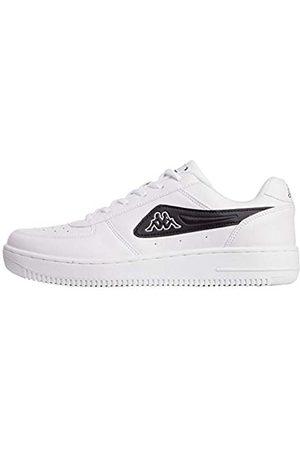 Kappa Unisex-Erwachsene BASH MF Sneaker, (White/Black 1011)