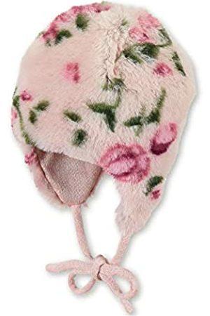 Sterntaler Inka-Mütze für Mädchen mit Blumen-Motiv, Alter: 18-24 Monate, Größe: 51