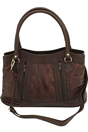Friedrich23 Handtasche, PatchworkLeder/Feinsynthetik, Strandtasche