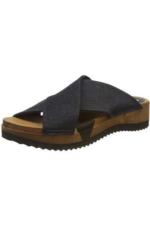 Sanita Damen Tilka Sport Flex Sandale Pantoletten, (Navy 29)