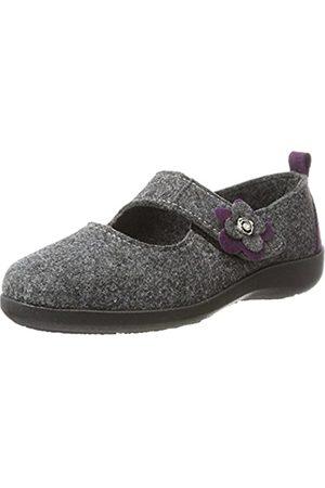 Fargeot Damen Tatoo Pantoffeln, (Anthrazit 7500160)
