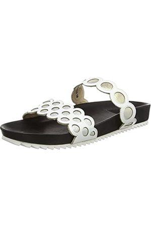 Giudecca Damen 031-A Pantoffeln, (White+Black Insole)
