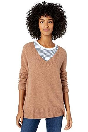Goodthreads Mid-Gauge Stretch V-Neck Sweater pullover-sweaters