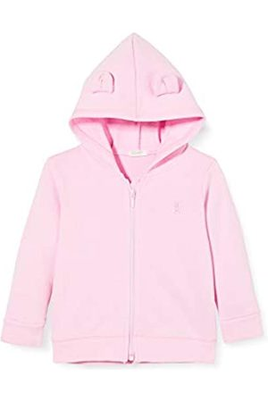 Benetton Baby-Mädchen Felpa Zip Strickjacke
