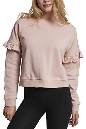 Urban classics Damen Ladies Oversize Volant Crewneck Pullover