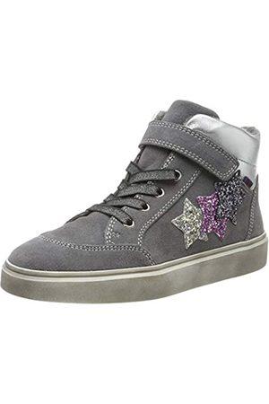 Richter Kinderschuhe Mädchen Ryana Hohe Sneaker, (Ash/Silver/Cand/Stee 6301)