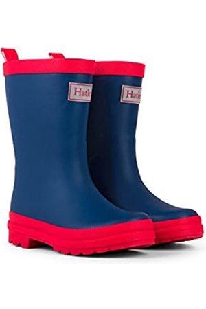 Hatley Mädchen Classic Rain Boots Arbeits-Gummistiefel, Blue (Navy/Red)
