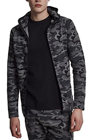 Urban classics TB1783 Herren Kapuzenpullover Interlock Camo Zip Jacket