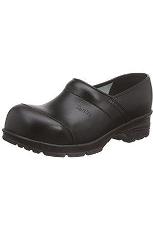 Sanita Workwear Unisex-Erwachsene San-Duty Closed Clogs, (Black 2)