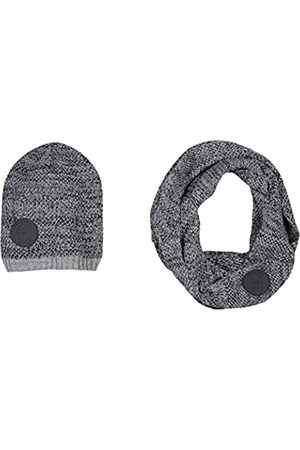 B-KARO Jungen G Brooklyn Heights Mütze, Schal & Handschuh-Set