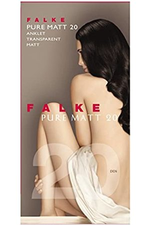 Falke Damen Söckchen Pure Matt 20 Denier - Transparente, Matt, 1 Paar